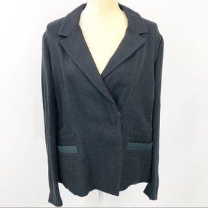Prada Womens Single Button Blazer